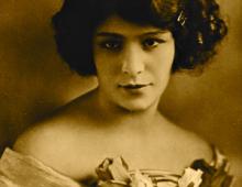 Delia Ruby Lopez-Dickerson, circa 1925.